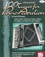 100 Tunes for Piano Accordion by DiGiuseppe, David (Paperback book, 2001)