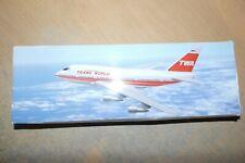 FLIGHT MINIATURES 1:200  BOEING 747SP TWA