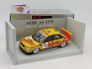 """UT 39971 # Audi A4 Tourenwagen No.10 STW 1999 """" Abt """" Hafferöder 1:18 ab 1,- €"""