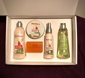 L'OCCITANE 5 Piece SET INC 3 HAIR TREATMENTS SHOWERGEL PLUS SOAP IN GIFT BOX