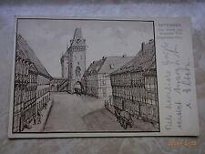 Zweiter Weltkrieg (1939-45) frankierte Ansichtskarten aus Niedersachsen