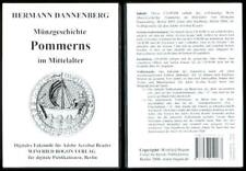 Dannenberg: Coin History of Pomerania in the Middle Ages on CD-ROM