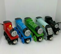 VARIOUS THOMAS PERCY THE TANK ENGINE & FRIENDS WOODEN TOY TRAINS