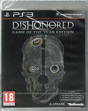 Déshonoré: GOTY Edition Jeu PS3 (Déshonoré) ~ Neuf/Scellé
