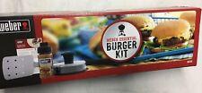 Weber Essential Burger Kit NIB!   #X-148