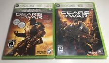 XBOX 360: Lot of 2 Games, Gears of War, - Gears of War 2 Tested! Complete.
