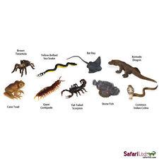 Venomous Creatures Toob/toob/safari Ltd/tarantula/komodo/scorpion/centipede/