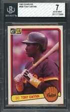 Tony Gwynn Rookie Card 1983 Donruss #598 San Diego Padres BGS 7