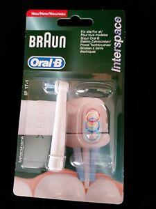 1x Braun Oral-B Aufsteckbürste Interspace IP 17-1