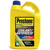 Prestone Coolant Antifreeze Ready to Use Universal Summer Winter -37°C 4 Litre