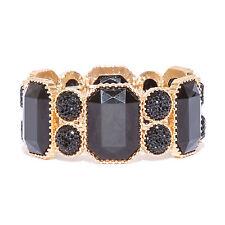 Black Stone Costume Bracelets