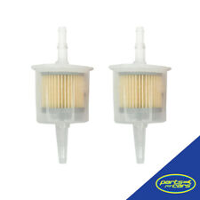 FF-106-2 - 2 x Large Universal Inline Fuel Filter 6 & 8mm [2 ONLY]