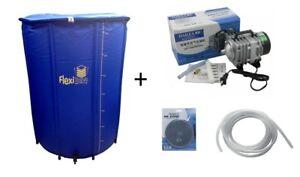 Pompe Hailea 4200l/H + Flexitank 225L réservoir souple + robinet + diffuseur