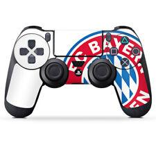 Sony Playstation 4 Contrôleur Film Autocollant Grand FC Bayern Munich Logo Blanc