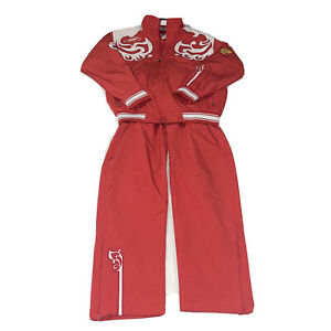 Bosco Sport Russia Small S Track Suit Jacket Pants Russian Olympic Team Red