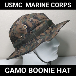 USMC Camo Boonie Hat – Marine Corps Tactical Military NEW Hiking Fishing Camping