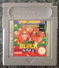 Kirby'S BLOCK BALL Retrò Nintendo Gameboy 1995 versione UK gioco cartuccia GBC GBA