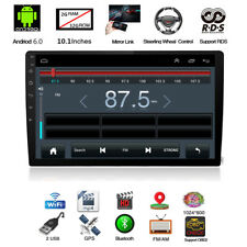 """10.1"""" Android 6.0 2Din Car GPS Stereo Radio Player 2+32G TV TPMS Bluetooth DVR"""