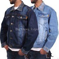 Peviani Men's Designer Denim Jacket,  Hip Hop Star, G, Is Money Time, Urban Wear