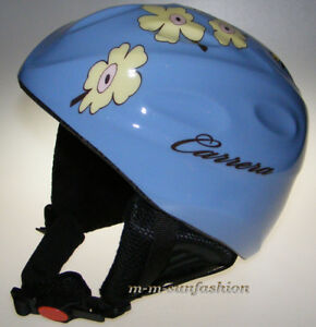CARRERA Kinder Ski Helm Kids Skihelmet TOP GUN 5QE BLUE PLUMB Gr.54/XS
