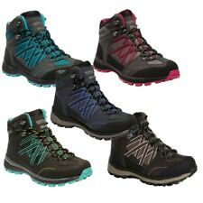 REGATTA LADIES SAMARIS MID II WALKING HIKING WATERPROOF BOOTS RWF539