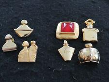 Lot Pin's+ Broches PARFUMS : GUERLAIN-YVES SAINT LAURENT-LANCÔME-UNGARO-ETC