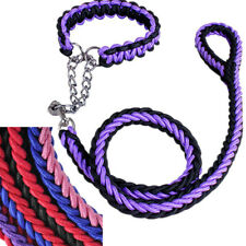 Dog Collar and Leash Set Size Large Walking Lead for Lab German Shepherd Bulldog