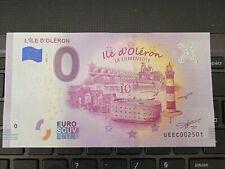 BILLET EURO SOUVENIR 2020-2 L'ÎLE D'OLÉRON