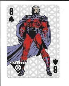 Xavier Institute for Higher Learning, Marvel Playing cards, Magneto,