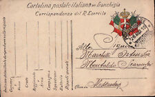 FRANCHIGIA MILITARE 1915 - WWI - POSTA MILITARE DIVISIONALE  -  C11-20