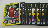 2020/21 Match Attax UEFA Champions - Lot of 20 cards incl Star Player Rashford