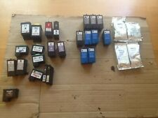 Lot of 27 Empty Lexmark & Dell  ink Cartridges