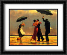 The Singing Butler 2x Matted 36x28 Large Framed Art Print by Jack Vettriano