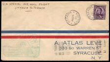 "CANADA - 1928 Golden Jubilee Air Mail Flight ""Ottawa to Toronto, ONT"""
