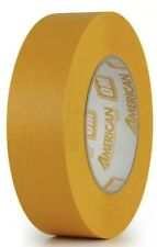 """24 Rolls American Orange Mask Tape 1.41"""" X 60 YDS Automotive Refinish Masking"""