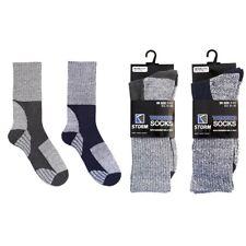2 Pares de Calcetines para Hombre Acolchado Caminar Senderismo Senderismo Esquí bota adultos 7-11