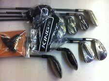 New Cobra King F6 Combo Iron Set 3-GW 8 clubs, LH, Senior Lite-flex, Matrix grph