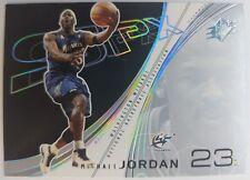 2002 02 Upper Deck SPX Michael Jordan #89 Insert, Washington Wizards