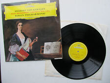 "Bach Brandenburg Concertos Nos. 1, 2 & 3 12"" Lp B P Karajan DG 139005 Stereo UK"