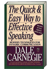 The Quick and Easy Way to Effective Speaking by Dale Carnegie (1990 paperback)