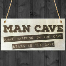 Novelty Man Cave Decorative Hanging Signs