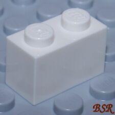 30 x LEGO® 3004 City,System Basissteine Bausteine in 1x2 Noppen weiß Neuware