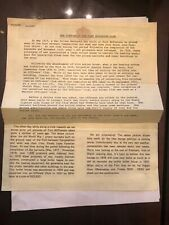 1976 The History of the Fort McPherson (Atlanta) Club Newsletter