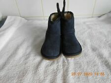 M & S INFANT GIRLS BLUE SUEDE BOOTS UK 5 BNWT  £25