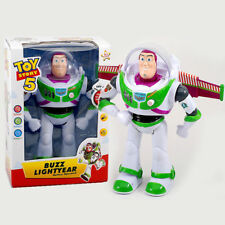 TOY STORY BUZZ LIGHTYEAR TALKING WALKING ACTION FIGURE ROBOT TOY LIGHT SOUNDS