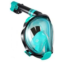 Wstoo Snorkeling Package Full Face, 180 Panoramic View Mask-Anti-Fog + Freebies