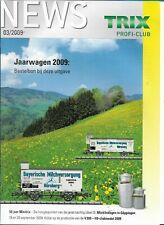 Trix News Profi-Club 03/2009 Magazine Nederlands