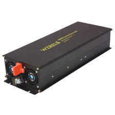 3000W Pure Sine Wave Inverter 12/24/48V to 120/220V to AC Power Inverter Convert