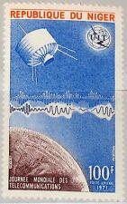 Níger 1971 290 c158 3rd World telecommunications Day ITU Satellite Space mnh