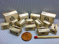 """14 cajas """"Oiler"""" en 1:24-1:25 para diorama, tren de ranura, enormemente, taller"""